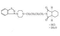 ペロスピロンの構造式