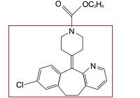 ロラタジンの構造式1