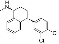 セルトラリンの構造式