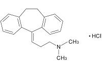 アミトリプチンの構造式