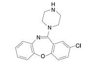 アモキサピンの構造式