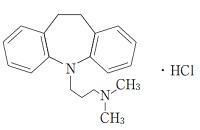 イミプラミンの構造式