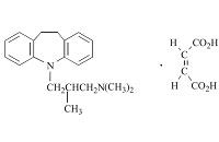 トリミプラミンの構造式