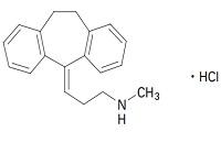 ノリトリプチンの構造式