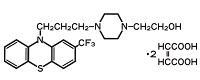 フルフェナジンの構造式