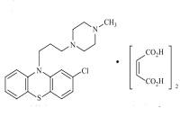 プロクロルペラジンの構造式