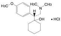 ベンラファキシンの構造式