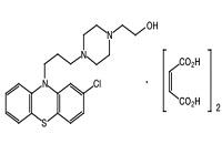 ペルフェナジンの構造式