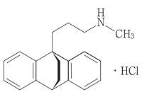 マプロチリンの構造式