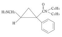 ミルナシプランの構造式