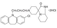 モサプラミン塩酸塩の構造式