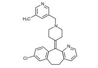 ルパタジンの構造式