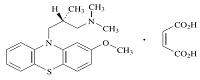 レボメプロマジンの構造式