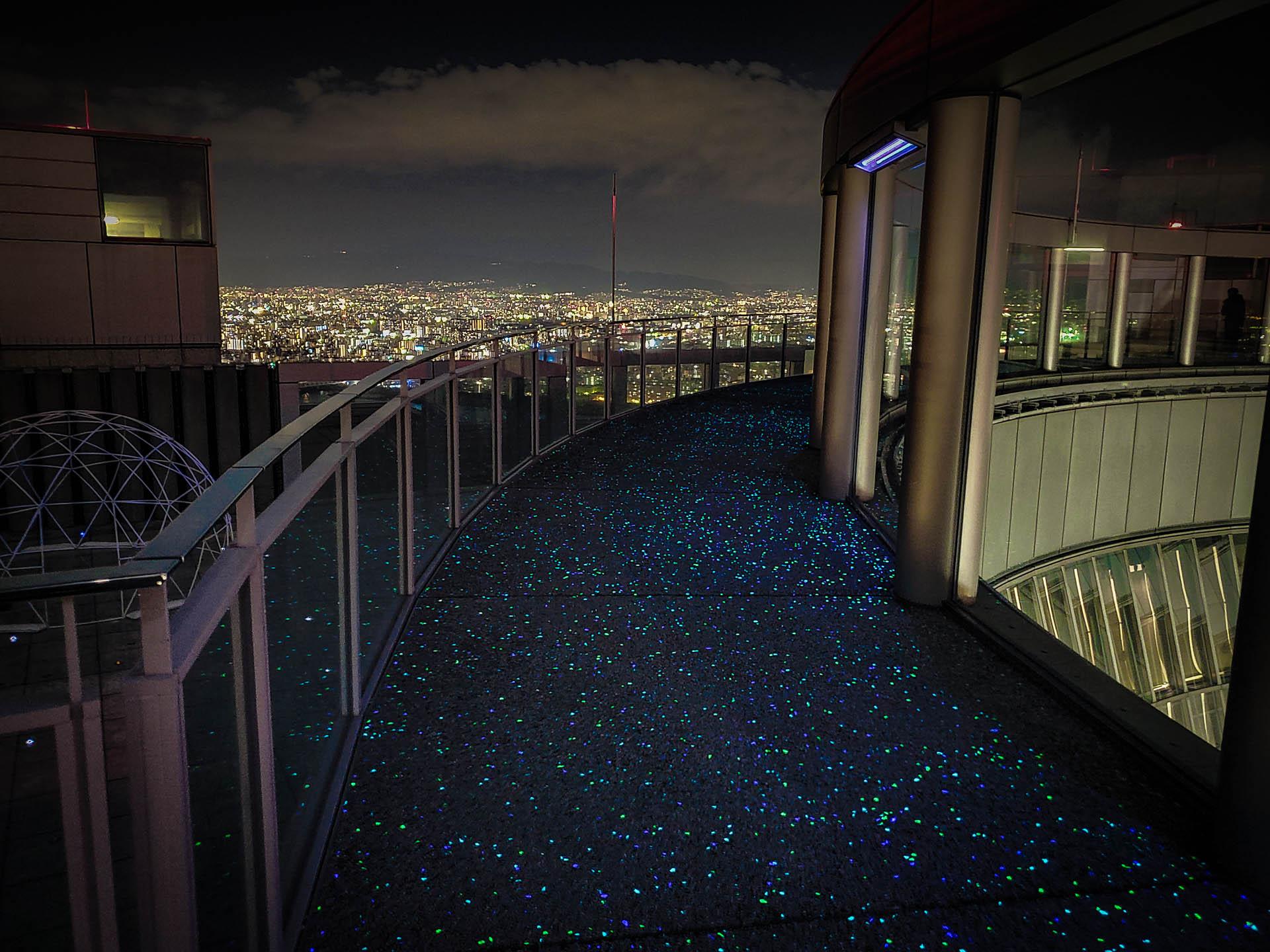 夜の梅田スカイビル