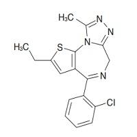 エチゾラムの構造式