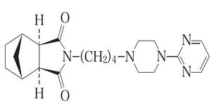 タンドスピロンの構造式