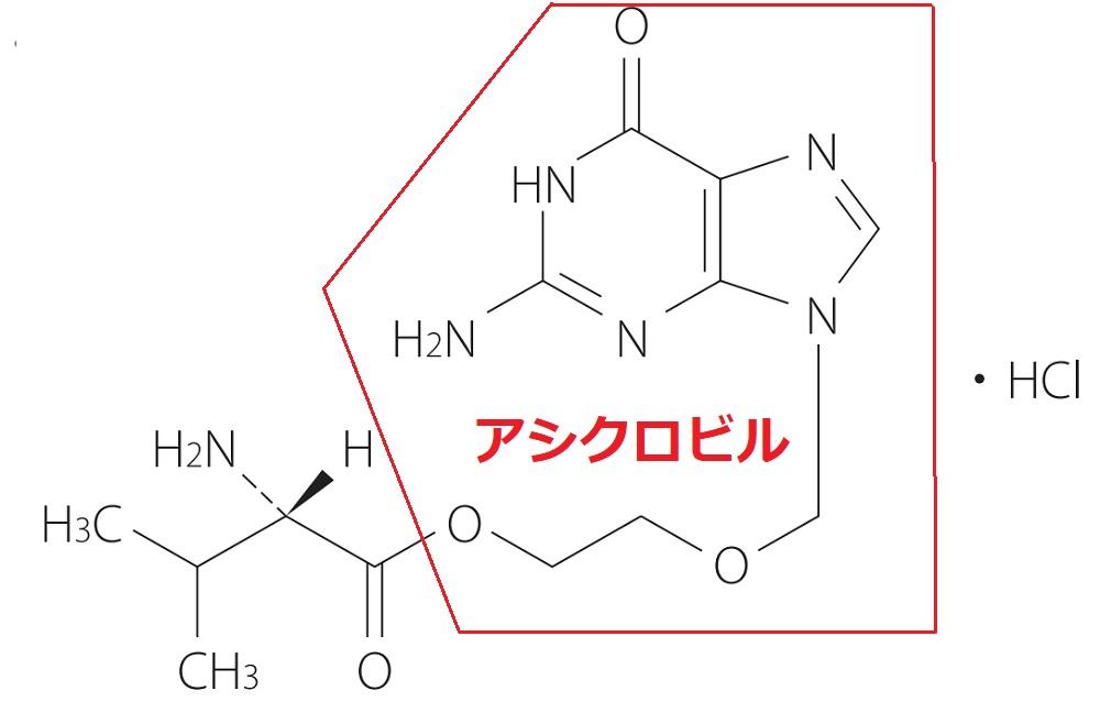 アシクロビル2