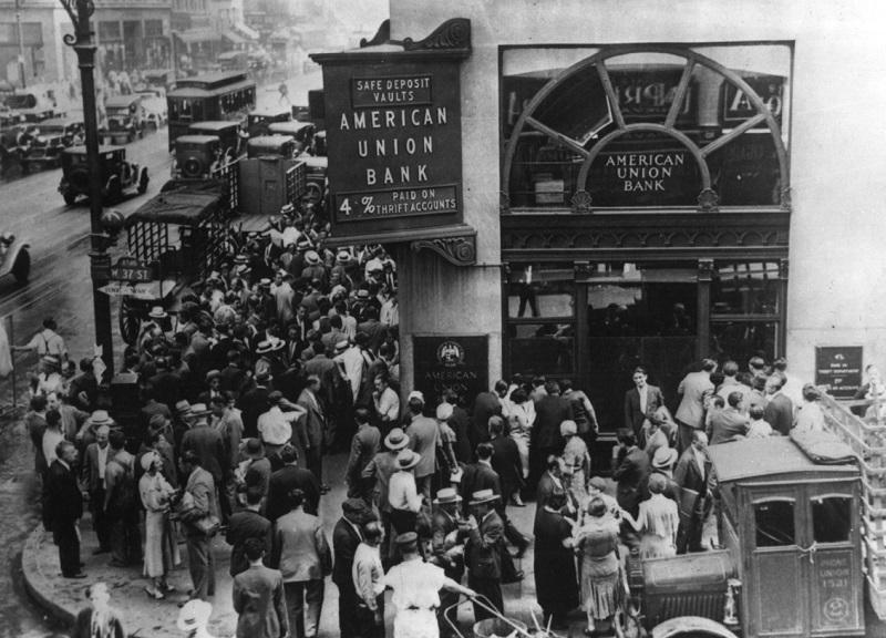 1929年の大恐慌